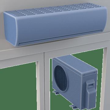 Ductless Split System Heat Pumps