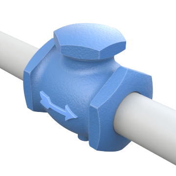 Back Flow Prevention Control Valves