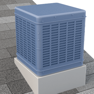 Central Air Conditioning Evaporative Coolers