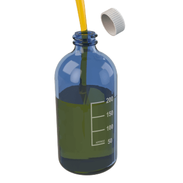 Narrow-Mouth Round Bottles