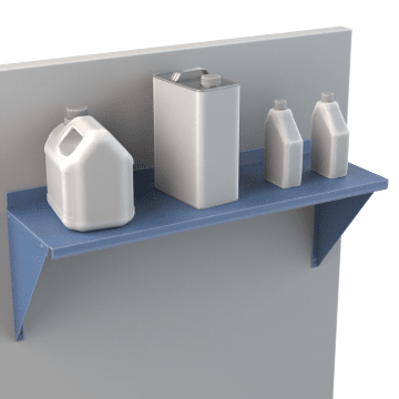 Wall-Mount Shelves & Components