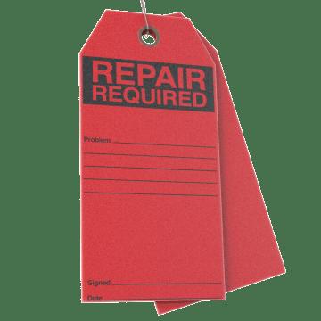 Repair & Maintenance Tags