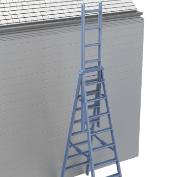 Extension Step Ladders