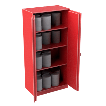Cabinets for Combustibles