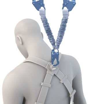 Shock-Absorbing Lanyards