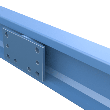 Heavy-Duty U-Channel Track Roller Guides
