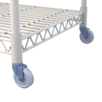Wire Shelving Casters