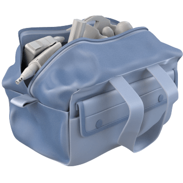 Wide-Mouthed Tool Bags
