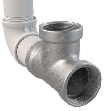 Galvanized Pipe Fittings & Pipe