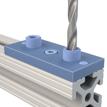 Access Hole Jigs for Structural Framing Extrusions