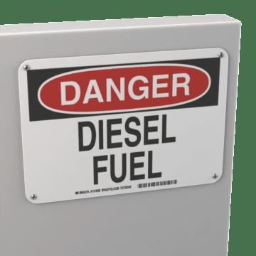 Chemical, Liquid & Gas Signs