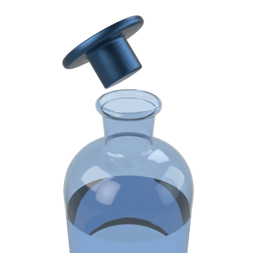 Stoppered Reagent Bottles