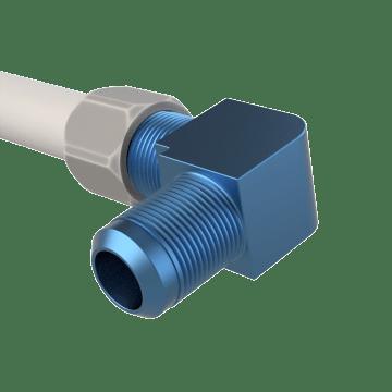 Low-Lead Brass 45° Flare Tube Fittings
