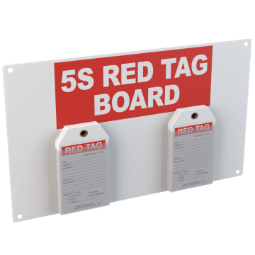 5S Red Tags & Stations
