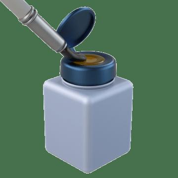 One-Touch Dispensing Bottles