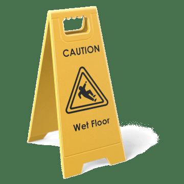 Slip, Trip, & Fall Hazard Signs