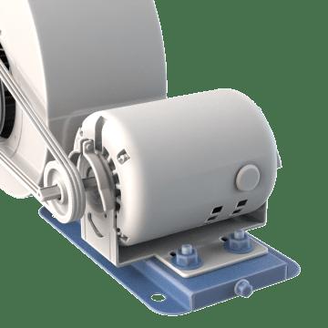 Adjustable Bases for Belt Drive Motors