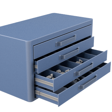 Carbide Inserts Storage