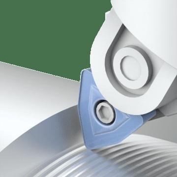 Trigon (W) Turning Inserts
