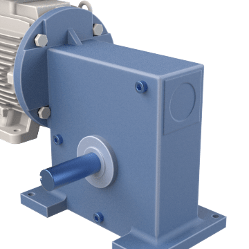 Right-Angle C-Face Speed Reducers