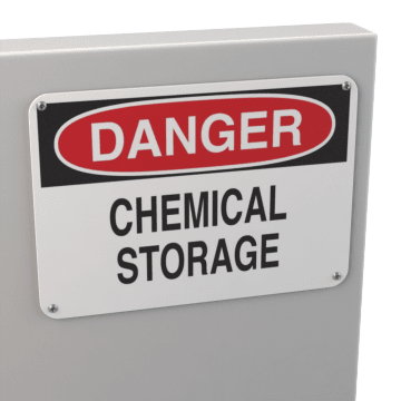 Chemical & Hazardous Material Storage Signs