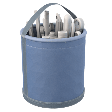 Open-Mouthed Tool Totes