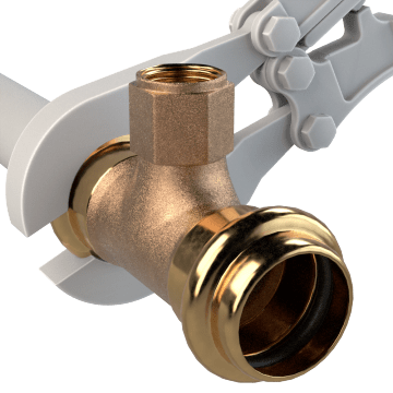 Low-Lead Bronze Press Fittings