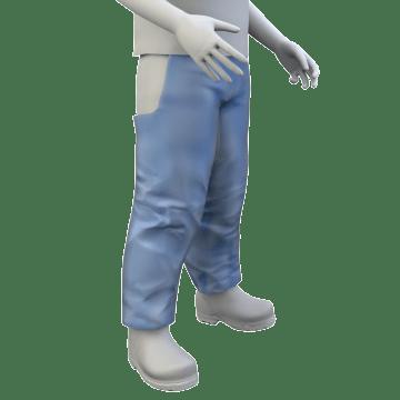 Chemical Splash-Resistant Chaps
