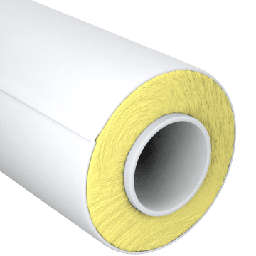 High-Temperature Fiberglass Pipe Insulation
