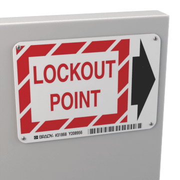 Lockout-Tagout Signs