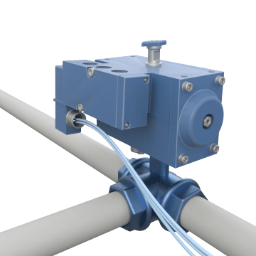 Air-Operated 3-Way Metal Ball Valves