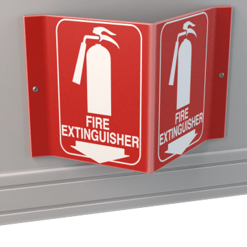 Fire & Emergency Equipment Signs
