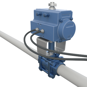 Air-Operated Sanitary Food Grade Metal Ball Valves