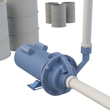 Standard Chemical-Resistant Centrifugal Pumps