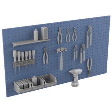 Pegboards & Accessories