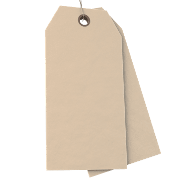 Blank Paper Tags