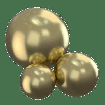 Brass Spheres