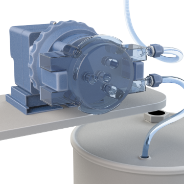 Peristaltic Chemical Metering Pumps