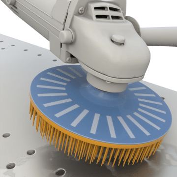 Cleaning & Finishing Bristle Discs