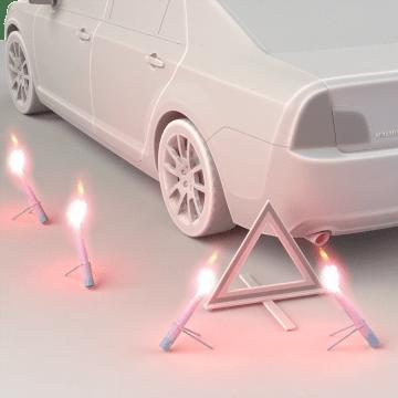 Road Flares & Reflectors