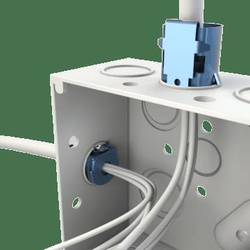 Flexible Conduit Squeeze-In Straight Connectors