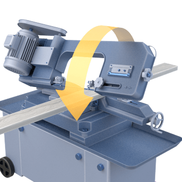 Horizontal Mitering Stationary Band Saws