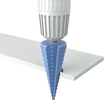 Step Drill Bits for Thin Materials
