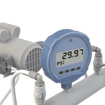 Digital Compound Gauges
