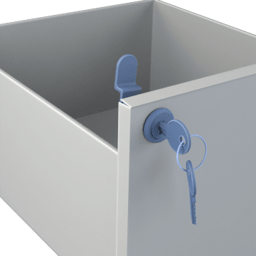 Cam Locks for Cabinets & Drawers