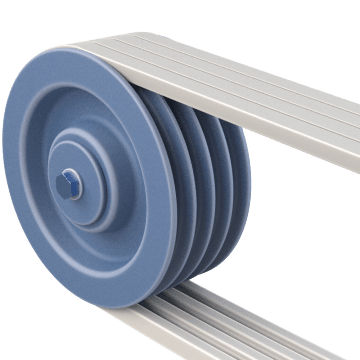 Multigroove V-Belt Pulleys