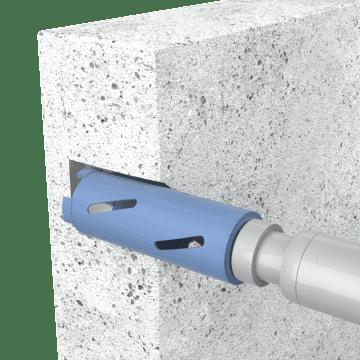 Diamond Tipped Large Hole Core Bits