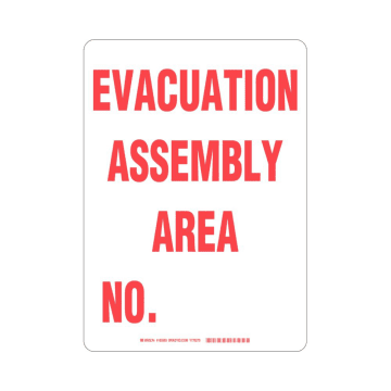 Evacuation Assembly Area No.