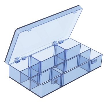3 to 9 Compartments