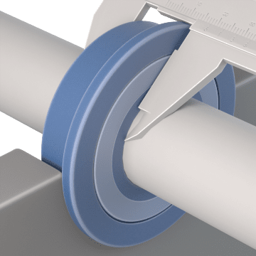 High-Precision Flanged